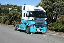 PBT TRUCKS NZ / Freightline r agosy
