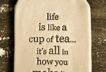 Tea / Tales from our tea break.