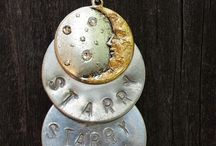 Hand Stamped Jewelry Making