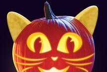 pumpkin carving ideas / Halloween