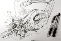 sketching drawings