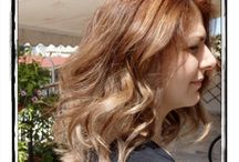 Hair color / Balayage- Highlights - 3D painting - bronde