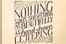 Lettering / by Suzie Hale