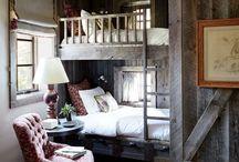 Lodge bedroom / by Rachel Totel