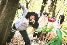 ch : inuzuka kiba [ 犬塚キバ ] / naruto • konohagakure • daijippan • kurenai-han • inuzuka clan • earth-yang release • gemini  —  heh, I don't know what's going on, but I'm always up for getting wild.
