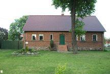 MY HOME/ Nasz dom / brick house, diy, green doors/ ceglany dom, stary dom z cegły, zielone drzwi, skalniak