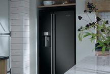 Kitchen american fridge housing