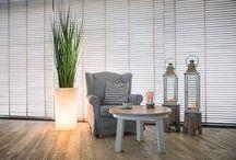 Interior design ideas / LED glowing flower pots