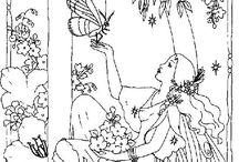 embroidery fantasy world