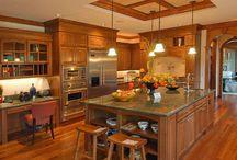 Cozinhas rústicas modernas! / Veja + Inspirações e Dicas de decoração no blog!  www.construindominhacasaclean.com