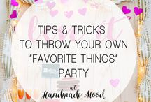 Party Tutorials / by Handmade Mood
