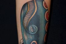 Whales tattoos
