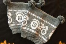 My stuff / Dette er ting jeg selv har strikket og heklet