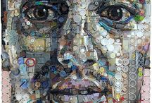 Reused and recycled art