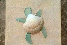 Seaglass craft