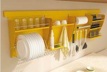 Espaço de armazenamento da cozinhaco