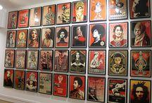 Shepard Fairey - Obey / Plus de 200 oeuvres de street art chez sergeant paper et maquis-art, rue quincampoix.