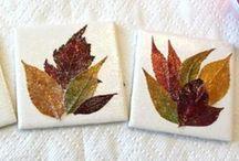 Ceramic tile crafts