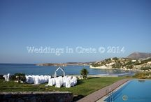 Villa & Hotel Wedding Venues in Crete / Venues recommended by Weddings in Crete to host a wedding ceremony and/or reception