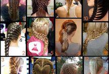 Creative Hairstyles / účesy..