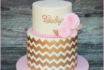 Babyshower cake pink