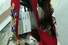 igne oyası ayakkabı süsleme