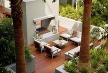 Tarasy, balkony, zielone dachy