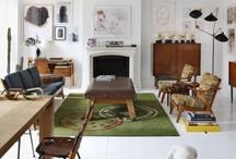 Interiors-Livingroom / by Kyra Williams