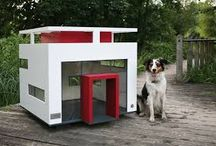 Luxurious Dog Houses / A doghouse is a small shed like structure shape of a house, used to provide the basics needs of the dog – shelter, warmth, comfortable surroundings, built by humans with emphasise on keeping the dog safe, supplying dog needs will keep the family dog healthy. Dog owners with cash to spare can provide their family dog with the dog version of a country mansion offering the ultimate in luxury living.