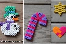 Hama / Tings made with hama beads