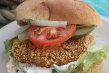 Burgers & Vegan Meatballs / Vegan Burgers