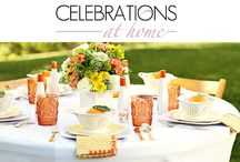 CELEBRATIONS AT HOME blog / Inspiration for Entertaining; Creative ideas for design & decor; insider tips, food & drink recipes, and simple DIY's.  / by Chris Nease {Celebrations At Home}