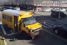 Viral Video - OMG - VIDEO Woman Gets Struck by School Bus