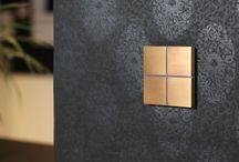 Beautiful Switches on Walls