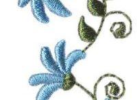 Hímzès - növények