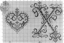 alphabet cross stitch and sew