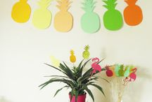 Idées anniversaire tropical