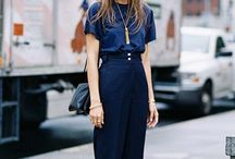 Navy blue / Fashion