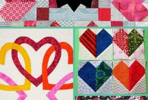 Valentine's Quilts & Projects / It's heart quilt season (or not, but never too early to start working on your projects)! Get ahead on your holiday quilts and quilty projects with these great ideas!