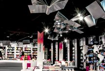 Book shop interiors