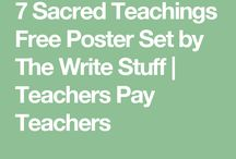7 Sacred Teachings