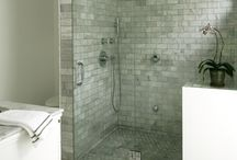 Home-downstairs bathroom / by Jilly Cario