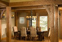 Timber frame: Dining rooms
