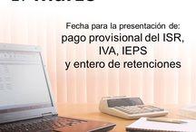 Presentación de la declaración de pago provisional / Personas obligadas: Personas morales Personas físicas: actividades empresariales y servicios profesionales, arrendamiento de bienes inmuebles, salarios, en su caso, sólo ISR.