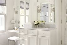 Decorating: bathroom ideas / by Aimee Heckel