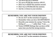 Counseling handouts / by Julie Mealins