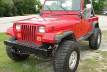 Wheels - Vintage Off-Road / Classic 4-Wheel Drive Vehicles - Blazers, Broncos, Jeeps, Land Cruisers, Land Rovers, Etc. Only real off-road vehicles here, no pretenders. / by Ed Logan