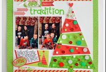 scrapbook layouts - holidays / Christmas, Easter, Halloween & Thanksgiving