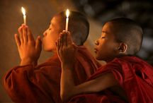 Peaceful Buddhist Monks & Nuns / by Denise Marie