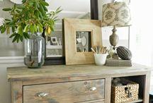 Furniture make over / Grey wash
